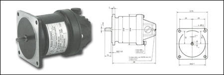 Medium Sized Tachogenerator Permanent Magnet Excitation
